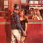 Raymond Leech How Many Times Can We Say Goodbye painting