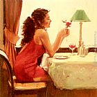 Raymond Leech Only A Dream Away painting