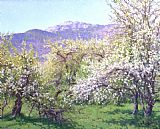 Richard Wheeler Whitney Abandoned Orchard painting