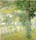 Robert Reid Hillside in Summer painting