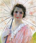 Robert Reid Lady with a Parasol painting