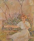Robert Reid The Garden Seat painting