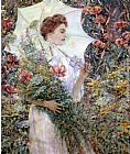 Robert Reid The White Parasol painting