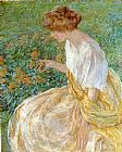 Robert Reid The Yellow Flower painting