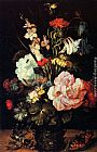 Roelandt Jacobsz Savery Flowers In A Vase painting