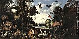 Roelandt Jacobsz Savery The Paradise painting