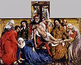 Rogier van der Weyden Descent from the Cross painting