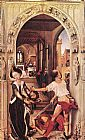 Rogier van der Weyden St John the Baptist altarpiece - right panel painting