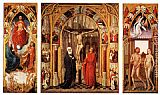 Rogier van der Weyden Triptych of the Redemption painting