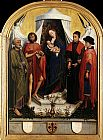 Rogier van der Weyden Virgin with the Child and Four Saints painting