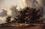 Salomon van Ruysdael After the Rain painting