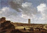 Salomon van Ruysdael View of Egmond aan Zee painting