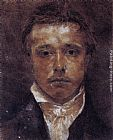Samuel Palmer Self-Portrait painting