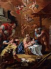 Sebastiano Ricci Adoration Of The Shepherds painting