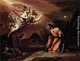 Sebastiano Ricci Prayer in the Garden painting