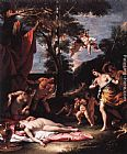 Sebastiano Ricci The Meeting of Bacchus and Ariadne painting