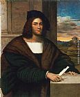 Sebastiano del Piombo Portrait of a Man painting