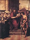 Sebastiano del Piombo San Giovanni Crisostomo and Saints painting