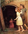 Seymour Joseph Guy The Haunted Cellar (Who's Afraid) painting