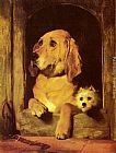 Sir Edwin Henry Landseer Dignity and Impudence painting