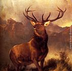 Sir Edwin Henry Landseer Monarch Of The Glen painting
