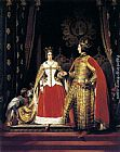 Sir Edwin Henry Landseer Queen Victoria and Prince Albert at the Bal Costumé of 12 May 1842 painting