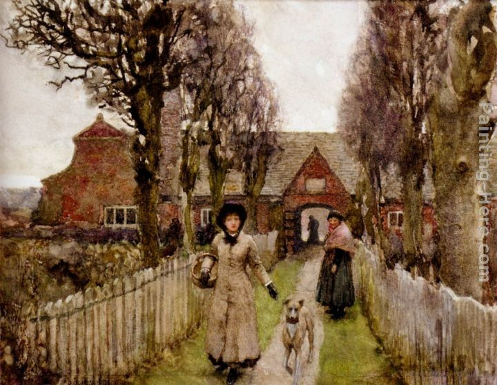 Sir George Clausen Gaywood Almshouses, Kings-Lynn, 1881