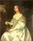 Sir Peter Lely Portrait of Hannah Bulwer painting