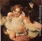 Sir Thomas Lawrence Calmady Children painting