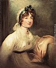 Sir Thomas Lawrence Diana Stuart, Lady Milner painting