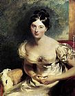 Sir Thomas Lawrence Margaret, Countess of Blessington painting