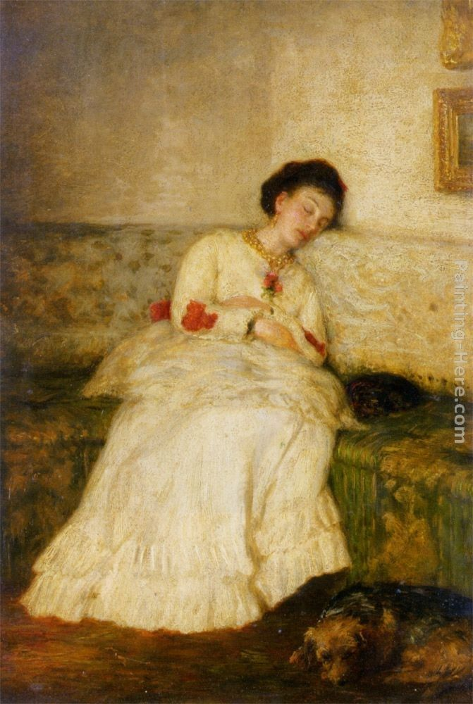 Sir William Quiller Orchardson Asleep