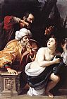 Sisto Badalocchio Susanna and the Elders painting