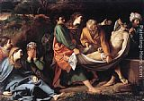 Sisto Badalocchio The Entombment of Christ painting