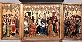 Stefan Lochner Altarpiece of the Patron Saints of Cologne painting