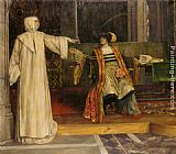 Stephen Reid Isabella and Angelo Measure for Measure painting