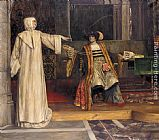 Stephen Reid Isabella and Angelo, Measure for Measure painting