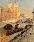 Terrick Williams Notre Dame, Paris painting