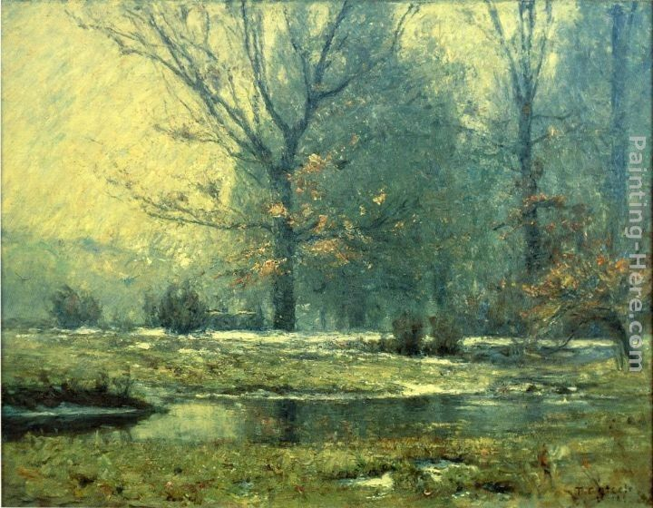 Theodore Clement Steele Creek in Winter