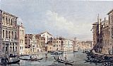 Thomas Girtin Grand Canal, Venice (after Canaletto) painting