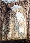 Thomas Girtin Interior of Tintern Abbey looking toward the West Window painting