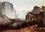 Thomas Hill A View of Yosemite Valley painting