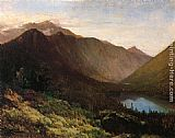 Thomas Hill Mount Lafayette, Franconia Notch, New Hampshire painting