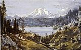 Thomas Hill Mount Shasta from Castle Lake painting