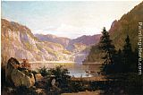 Thomas Hill Mountain Lake painting