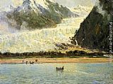Thomas Hill The Davidson Glacier painting
