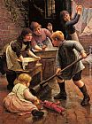 Thomas Liddall Armitage Washing Day painting