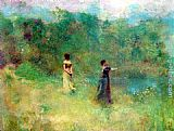 Thomas Wilmer Dewing Summer painting