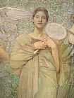 Thomas Wilmer Dewing The Days detail painting