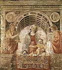 Vincenzo Foppa Madonna and Child with St John the Baptist and St John the Evangelist painting